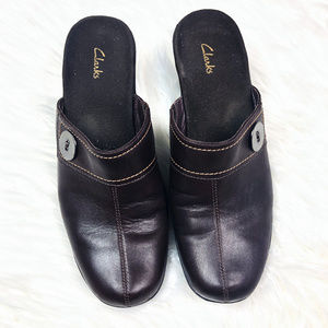 [CLARKS] Slip On Comfort Shoes Mules Clogs